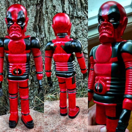 Iron Monster deadpool sofubi