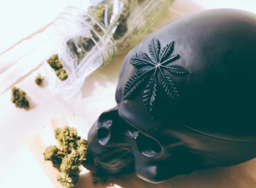 Cypress Hill Skull resin bust