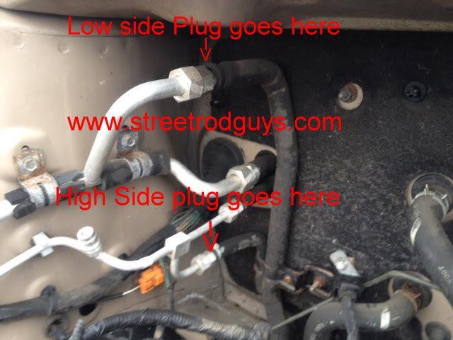 Line Repair Kit Ac Rear