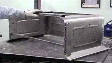 Street Rod Hot Rod Build Metal Pickup Truck Bed Fiberglass Body Work and Paint