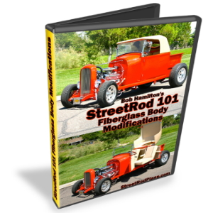 StreetRod 101 Fiberglass Body Modifications DVD