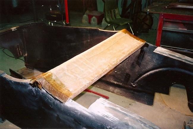 fiberglass body repair street rod hot rod