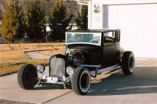 how to build a street rod 1926 chopped Model T coupe rat rod