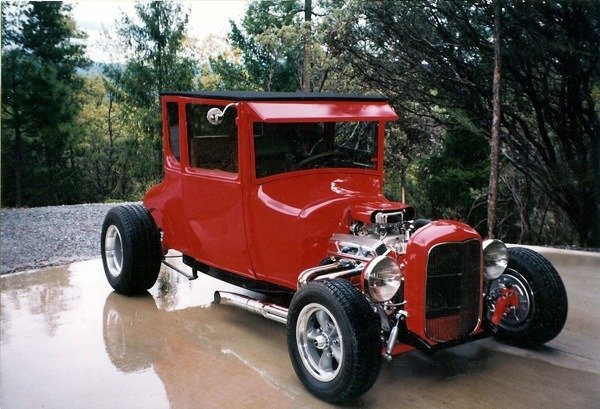 how to build a street rod 1927 Ford Model T coupe