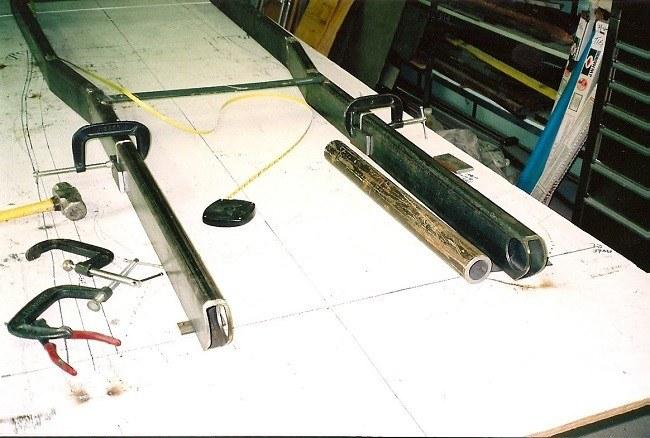 how to build street rod frame