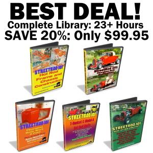 StreetRod101 DVD Library