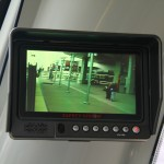 Siemens rear-view display