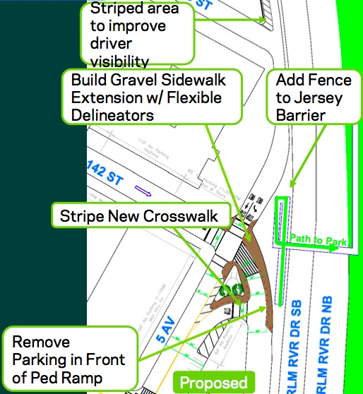Improvements at 142nd and