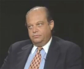 Norman Steisel, appearing on Charlie Rose in 1993.