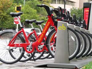 D.C.'s Capital Bikeshare is currently the U.S.'s largest bike-sharing program. Photo: James Schwartz via Flickr.