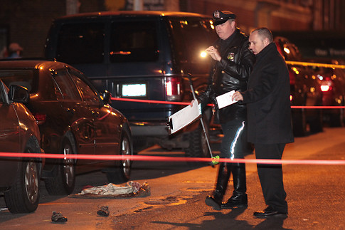 Margaret Fisher was killed crossing W. 93rd Street at Amsterdam Avenue last November. Photo: Daily News