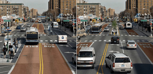 Webster Avenue SBS Will Not Have Center-Running Bus Lanes