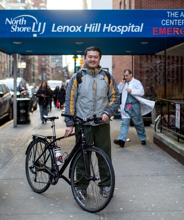 bike commuter doctor