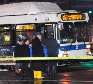 Martha Tibillin-Guamug, 25, was killed by a bus driver in Jackson Heights last week. Photo: NY Post
