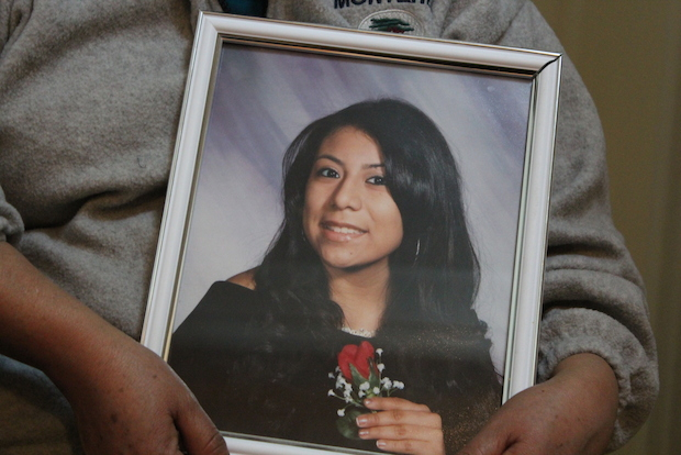 Marisol Martinez was crossing Union Avenue in Williamsburg when she was struck by an MTA bus driver making a left turn. Photo: ##http://www.dnainfo.com/new-york/20140301/williamsburg/williamsburg-woman-struck-killed-by-mta-bus##DNAinfo##