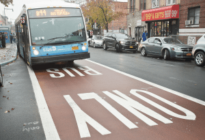 Transportation Commissioner Polly Trottenberg says New Yorkers should expect 13 more Select Bus Service routes in the next four years. Photo: MTA/Flickr