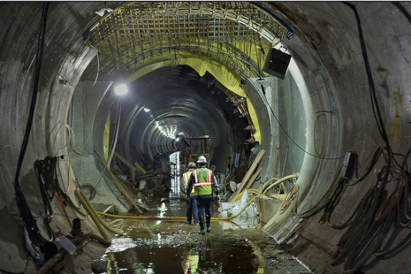 Governor Cuomo's MTA Reinvention Commission will have to address the high cost of construction for mega-projects like the Second Avenue Subway. Photo: ##https://www.flickr.com/photos/mtaphotos/12780228293/in/set-72157641529209245##MTA/Flickr##