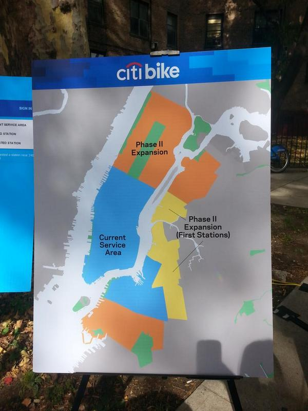 Citi Bike Expansion Map 375 New Stations For Uptown Queens And
