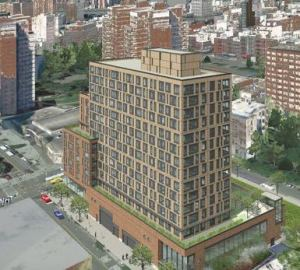 Site 5 will contain shops, a supermarket, apartments, and a public park -- but no parking. Image: Essex Crossing