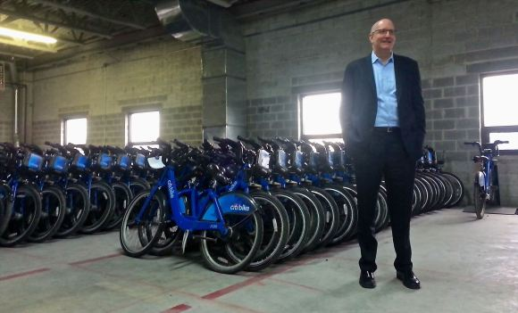 Citi Bike boss Jay Walder says last weekend's software upgrade lays the groundwork for more improvements at the bike-share system. Photo: Stephen Miller