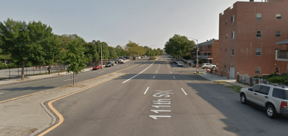 Assembly Member Francisco Moya is worried that anything less than two lanes each way will lead to gridlock for drivers going to tennis tournaments in Flushing Meadows Corona Park. Photo: Google Maps