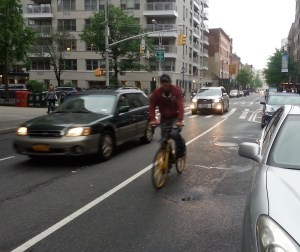 "DOT calls this design ""bike-friendly."" Photo: Stephen Miller"