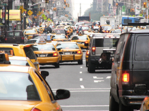 When roads are free, traffic is clogged. Photo: Kevin Coles/Flickr