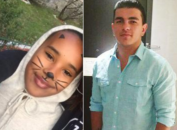Nyanna Aquil, left, and Kristian Leka, were two of three people killed in the Bronx by a curb-jumping driver on Halloween, along with Nyanna's grandfather Louis Perez. Photos via Daily News