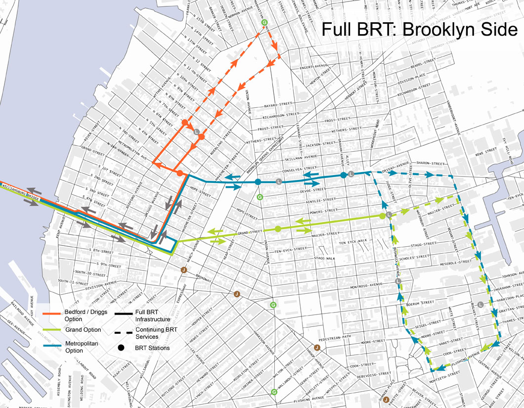 Brooklyn Subway Map Minimal.Keep L Train Passengers Moving With Great Brt Streetsblog New York