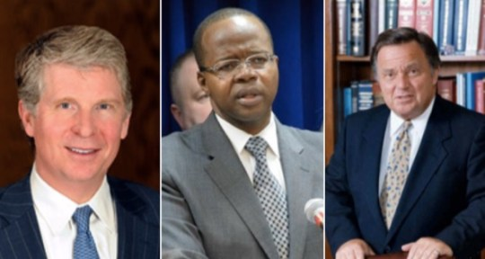 Cy Vance, Ken Thompson, and Richard Brown