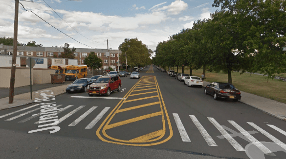 There's plenty of room for bike lanes on Juniper Boulevard North. Image: Google Maps
