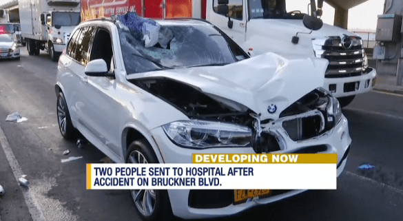 Was this driver adhering to the 25 miles per hour speed limit before fatally striking a pedestrian on Bruckner Boulevard?Does it matter to NYPD? Image: News 12