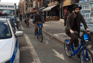 Citi Bike has broken its daily ridership record nine -- nine! -- times this month. Photo: Jon Orcutt