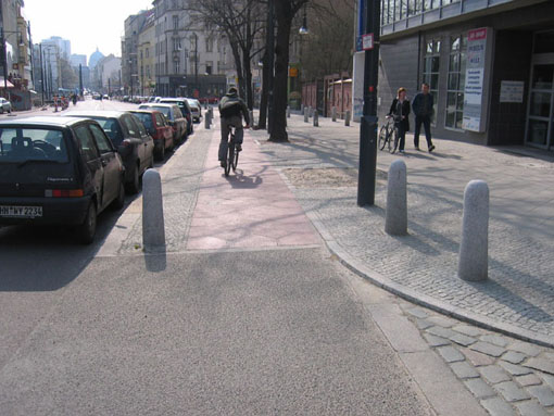 Buffered bike lanes (StreetsBlog)