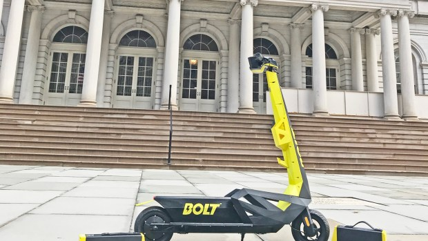 There's a New Scooter in Town (But it's Still Illegal)