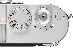 Leica M 240 Review - Shutter Button