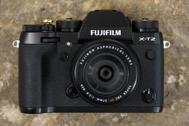 Fuji XT2 Street Photography Review - Camera Front