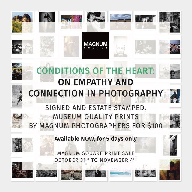 Magnum Square Print Sale - Conditions Of The Heart