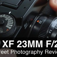 Fuji 23mm f2 Street Photography Review - Great Little Lens!