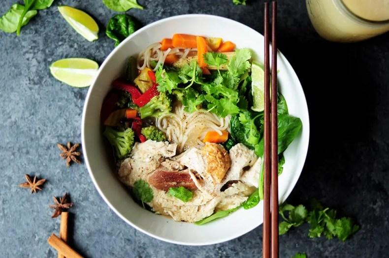 15-Min Turkey Pho Recipe