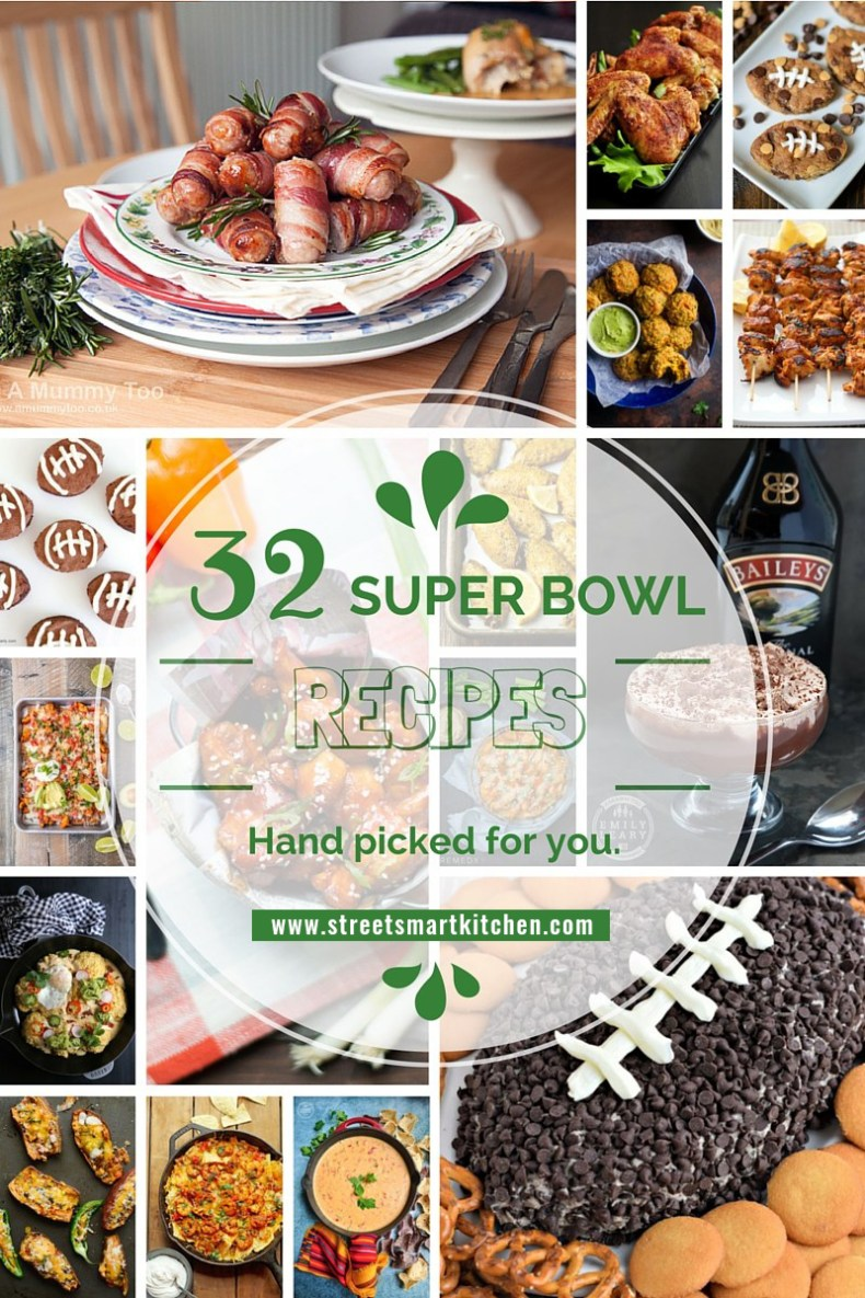 Ready to party? Here are 32 mouth-watering party food recipes hand picked for you to rock your Super Bowl Sunday, tailgate party, or just a simple gathering. Enjoy!