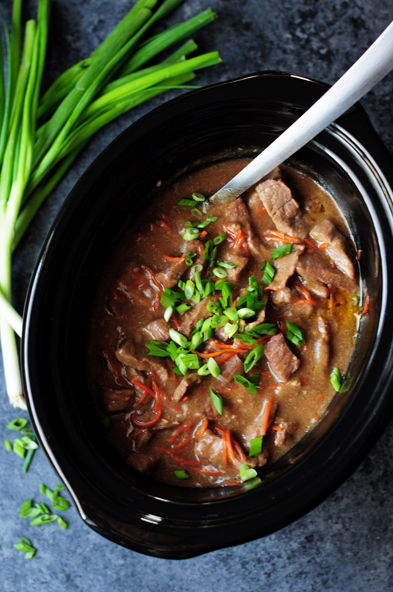 Gluten-Free Mongolian Beef Recipe In A Slow Cooker
