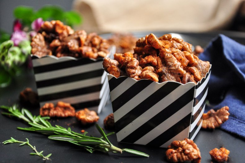 Roasted Spiced Walnuts (Vegan & GF)