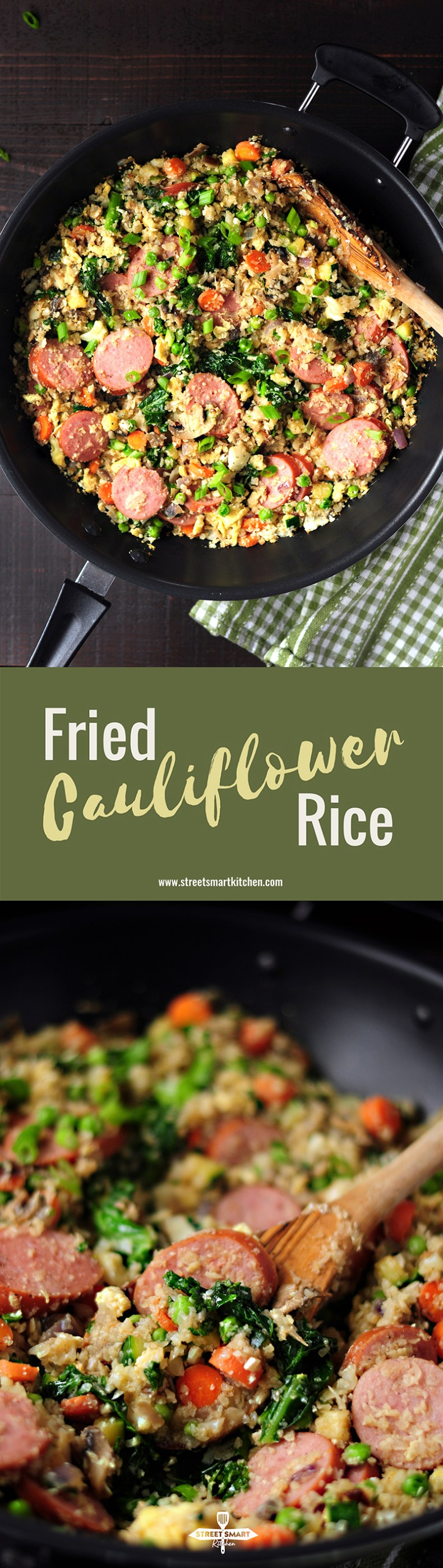 Easy Fried Cauliflower Rice