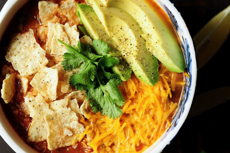 Authentic chicken tortilla soup made in a Fusion Cooker with homemade chicken broth and shredded chicken from the broth. No hassle, no babysitting, no waste.Set and forget for a hearty delicious soup!