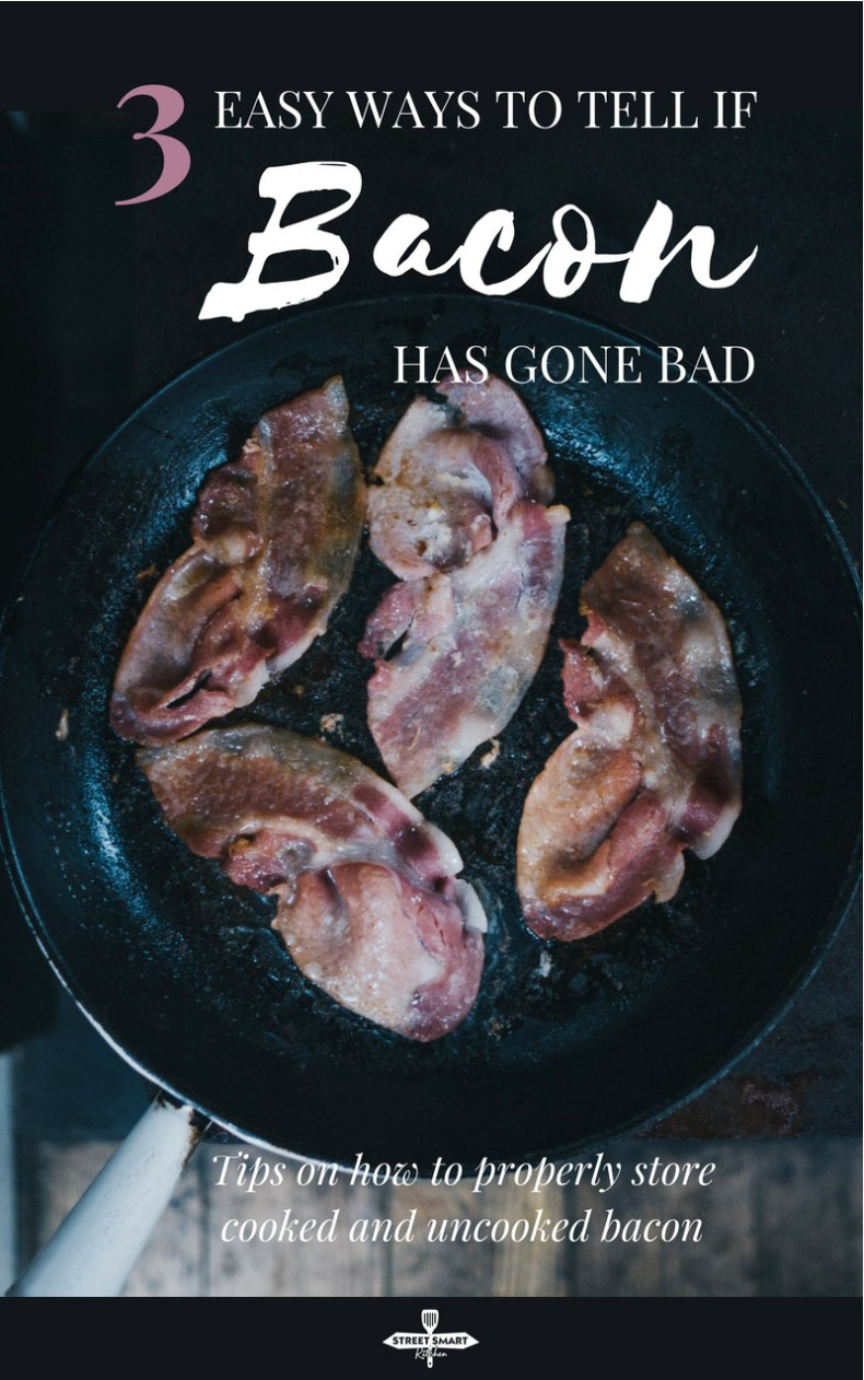 How to tell if bacon is bad: is bacon still good when it turns brown? There are three easy ways to find out, plus tips on how to properly store bacon.