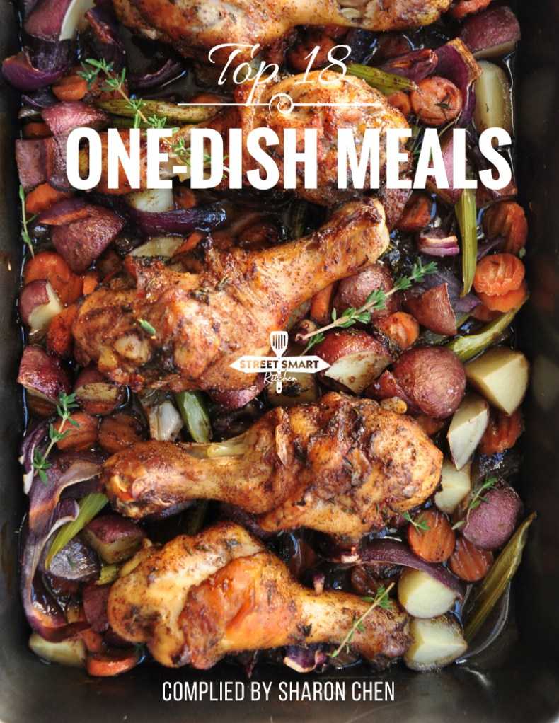 Our tried and true best one-dish meals all compiled in one place. Download the Top 18 One-Dish Meals cookbook for free now.