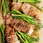 Perfectly tender and juicy sous vide chicken breast paired with sous vide asparagus makes a fabulous low-carb and gluten-free meal.