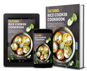 Tatung Rice Cooker Cookbook - all covers