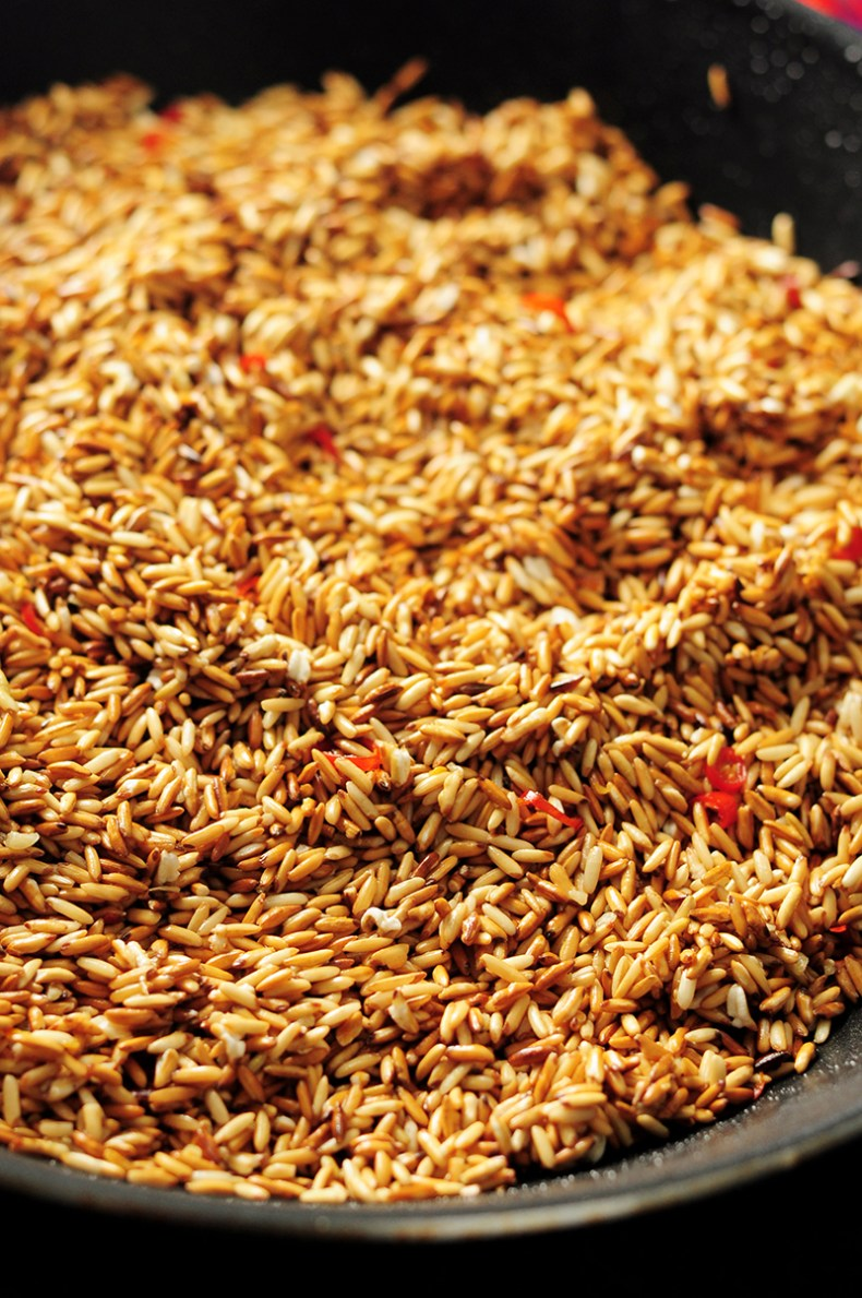 Toasted Brown Rice